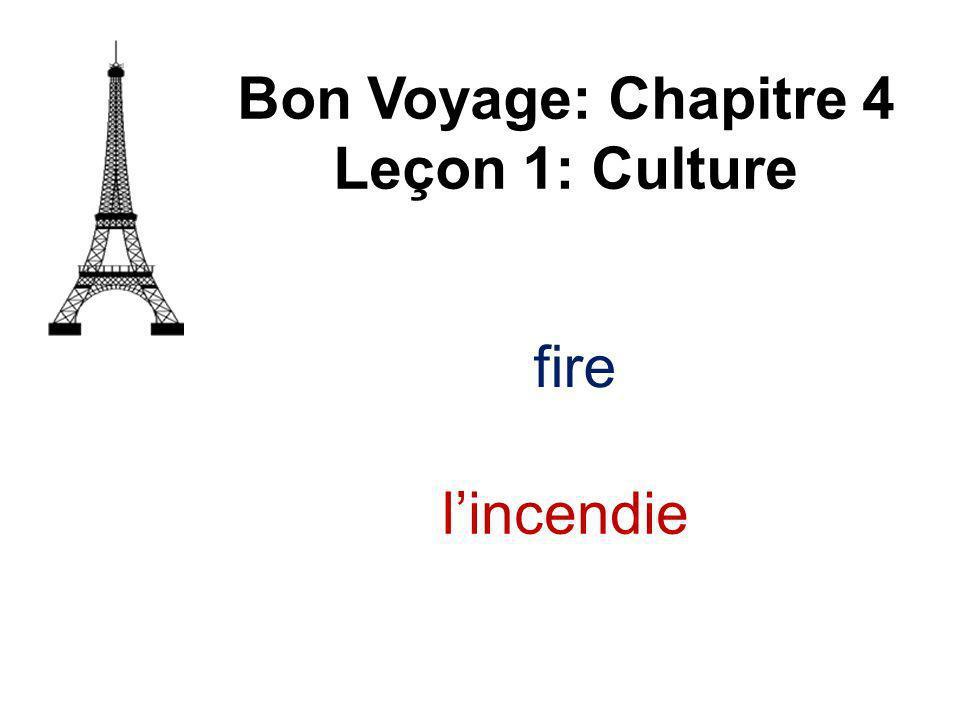 to steal Bon Voyage: Chapitre 4 Leçon 1: Culture voler