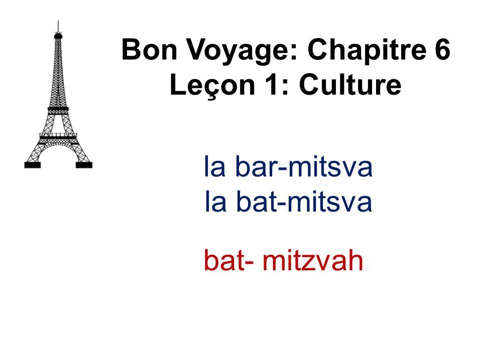 la dragée Bon Voyage: Chapitre 6 Leçon 1: Culture sugared almond