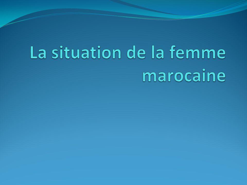 Le Maroc est l un des principaux pays arabes où les conditions de la femme ont été améliorées au cours de ces dernières années.