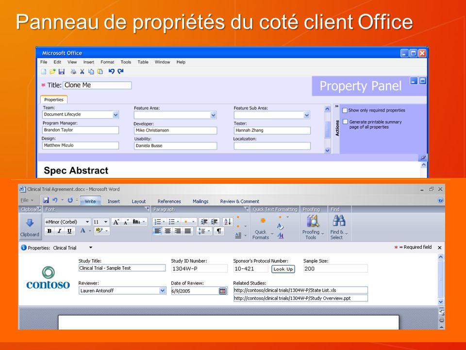Formulaires Formulaires ASPX (Windows SharePoint Services et serveurs Office) : Seulement serveur.