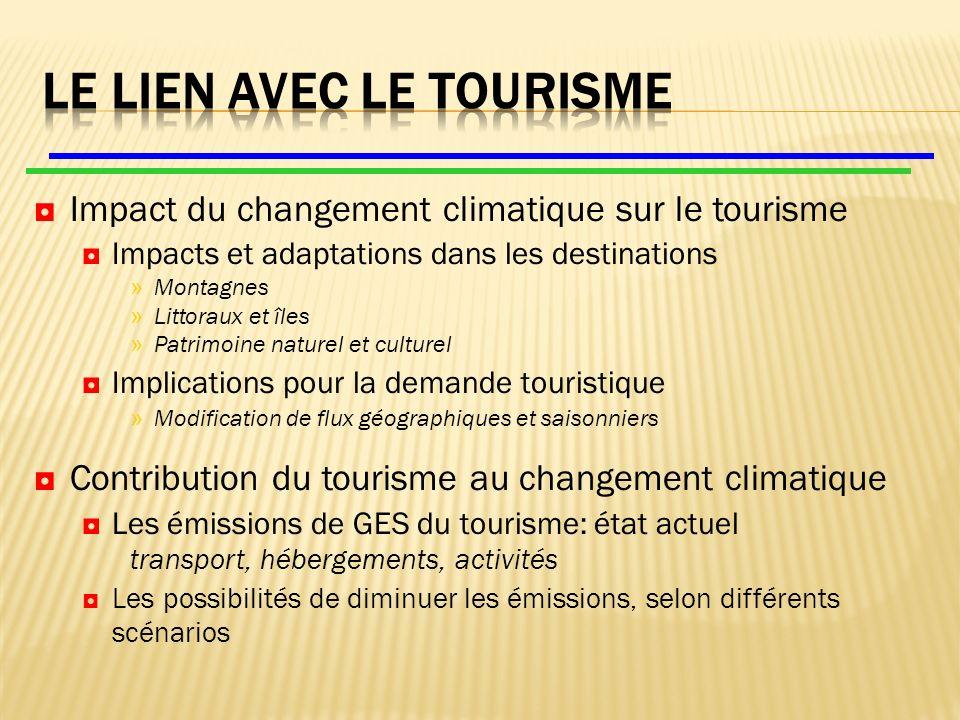 Trouver des combinaisons « acceptables » distance/mode de transport/vitesse Un tourisme de proximité, bien sur, mais au- delà.
