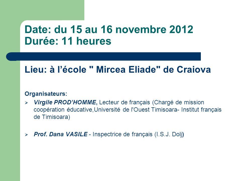 Merci de votre attention! Prof. Gabriela MIHAI ( C.N. Ştefan Velovan, Craiova)