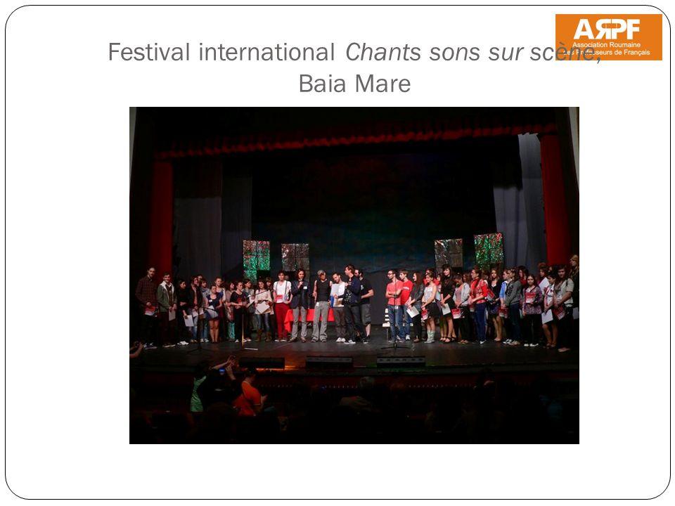 Festival international Chants sons sur scène, Baia Mare