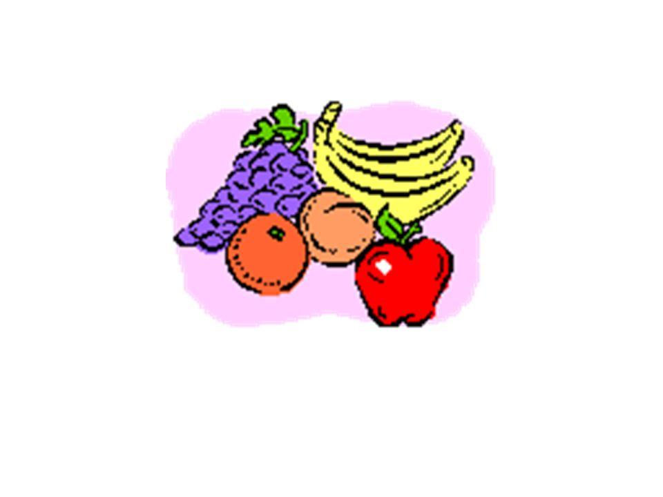 Des Fruits (m.)