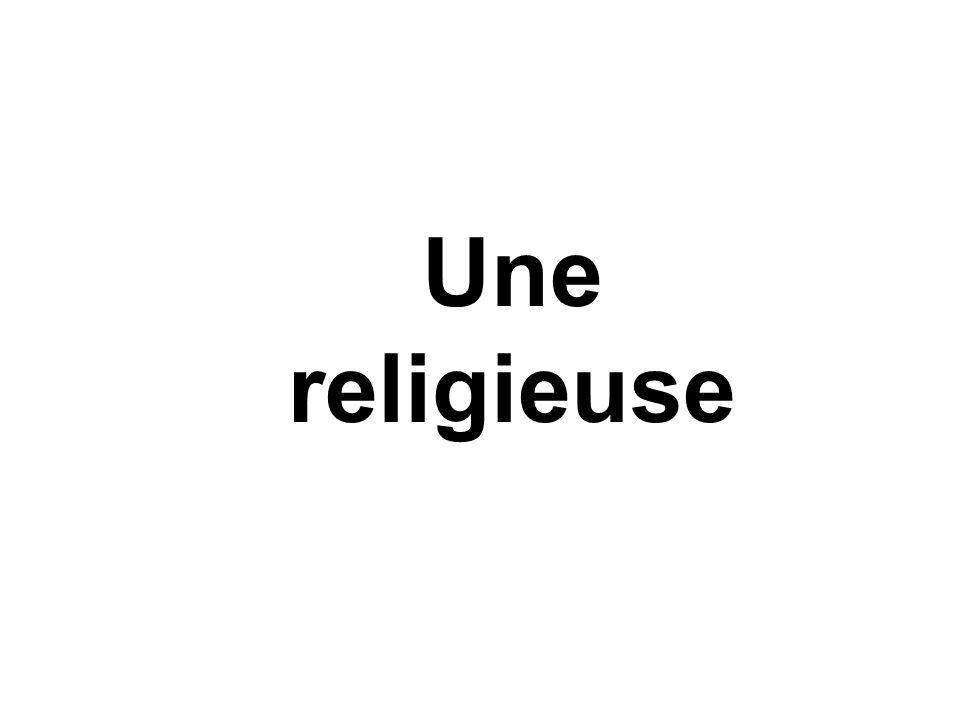 Une religieuse