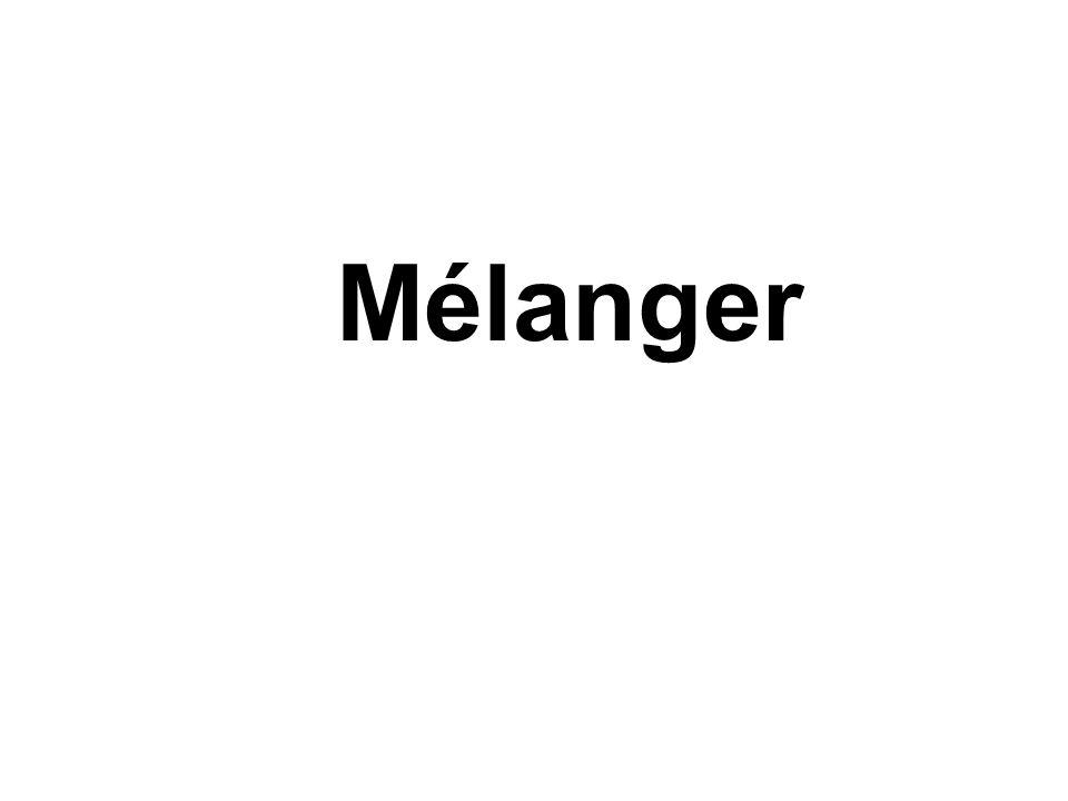 Mélanger