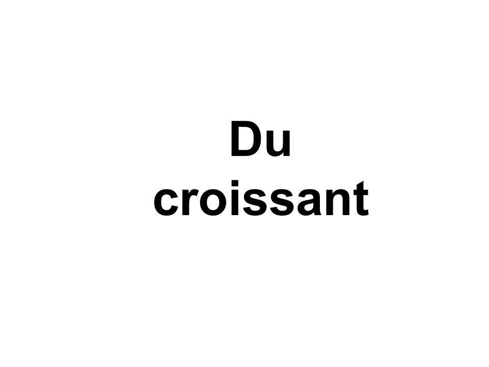 Du croissant