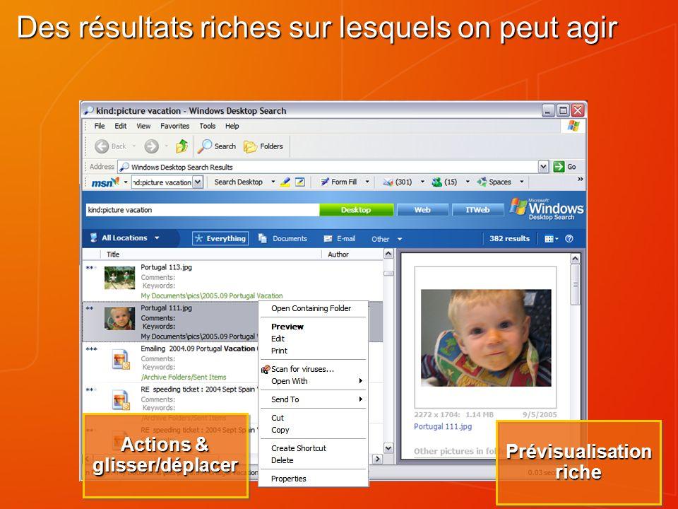 Information Resources Download from : http://www.microsoft.com/windows/desktopsearch/enterprise http://www.microsoft.com/windows/desktopsearch/enterprise General Info : http://www.microsoft.com/windows/desktopsearch http://www.microsoft.com/windows/desktopsearch Administrators Guide : http://www.microsoft.com//technet/prodtechnol/windows/search/dtsg uide.mspx http://www.microsoft.com//technet/prodtechnol/windows/search/dtsg uide.mspx http://www.microsoft.com//technet/prodtechnol/windows/search/dtsg uide.mspx Windows Desktop Search SDK : http://addins.msn.com/devguide.aspx http://addins.msn.com/devguide.aspx Add-ins for Windows Desktop Search : http://addins.msn.com http://addins.msn.com