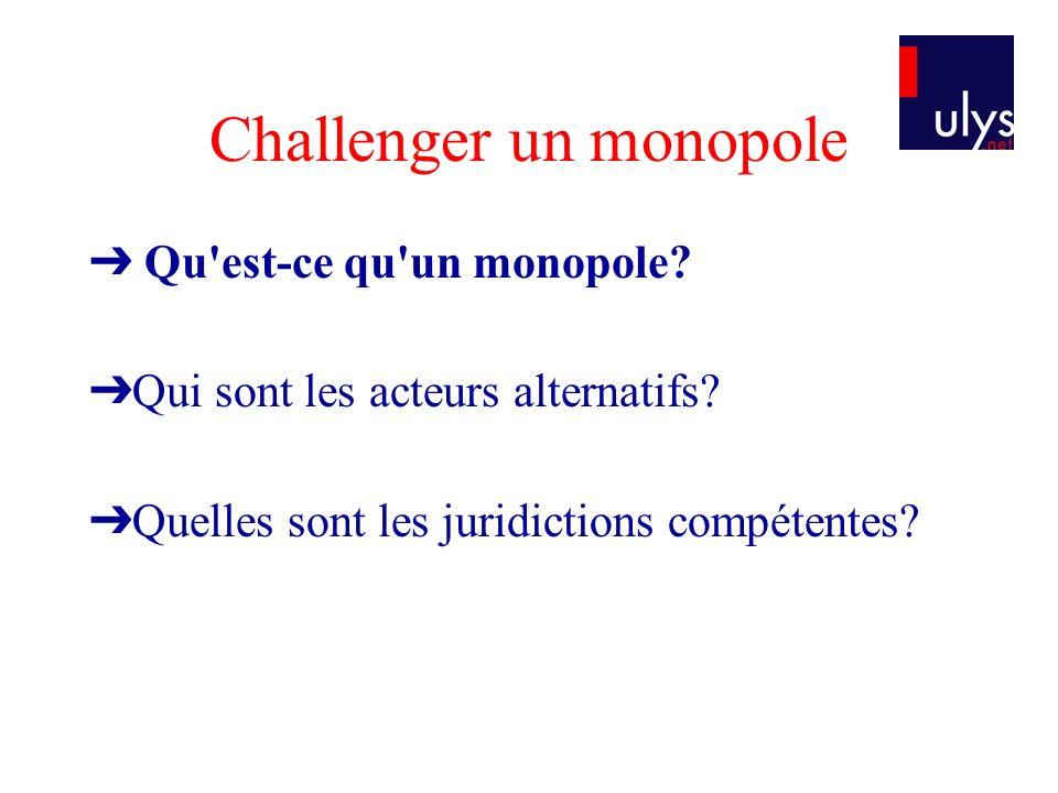 Le Conseil constitutionnel Les juridictions judiciaires Les juridictions administratives Le Conseil de la concurrence La Commission européenne La Cour de Justice Européenne et le TPICE