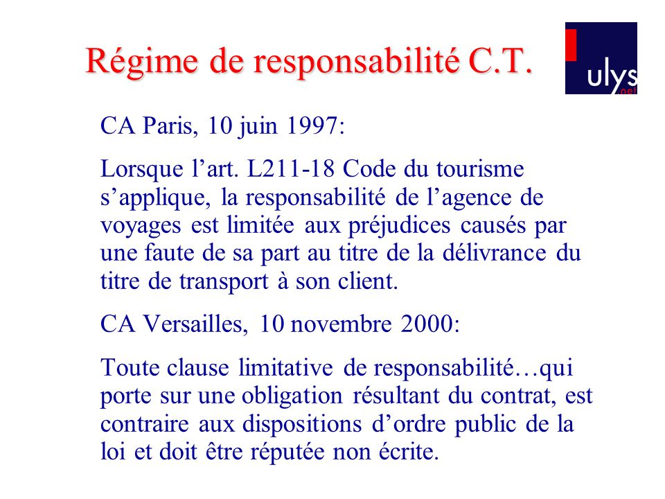 CA Paris, 10 juin 1997: Lorsque lart.