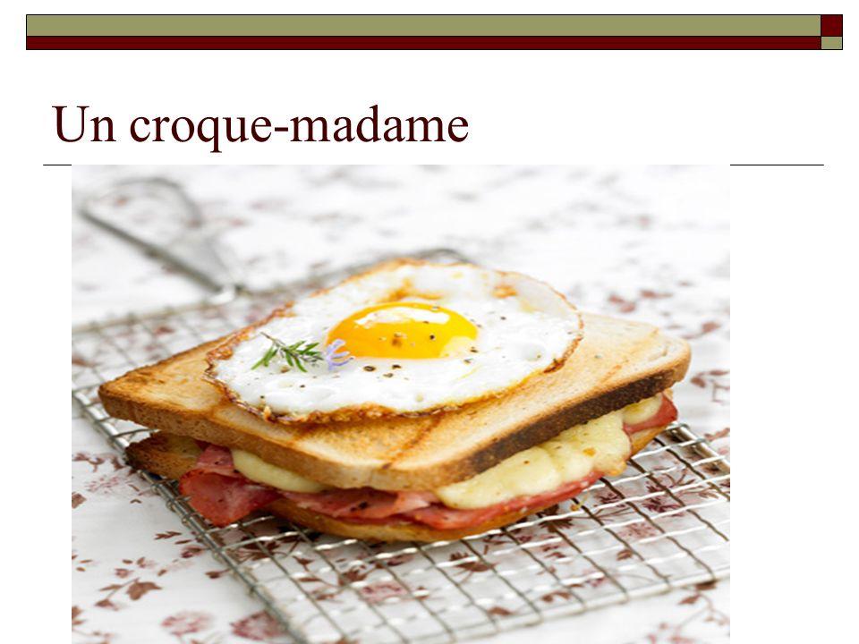Un croque-madame