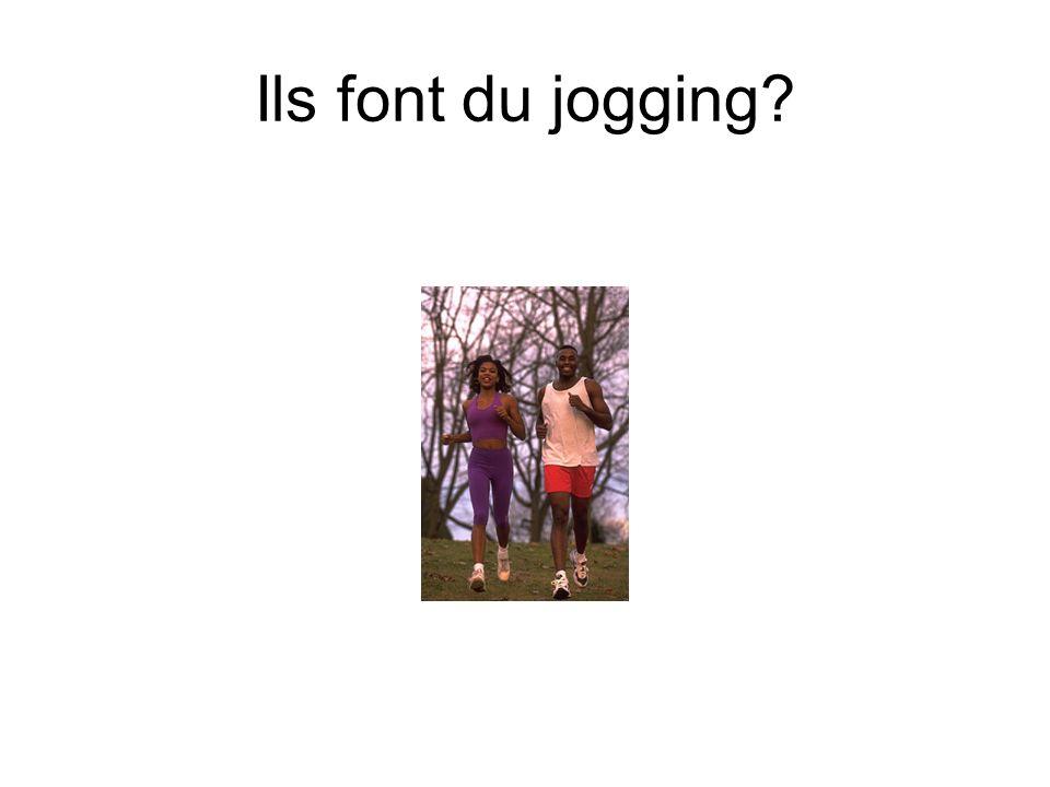 Ils font du jogging