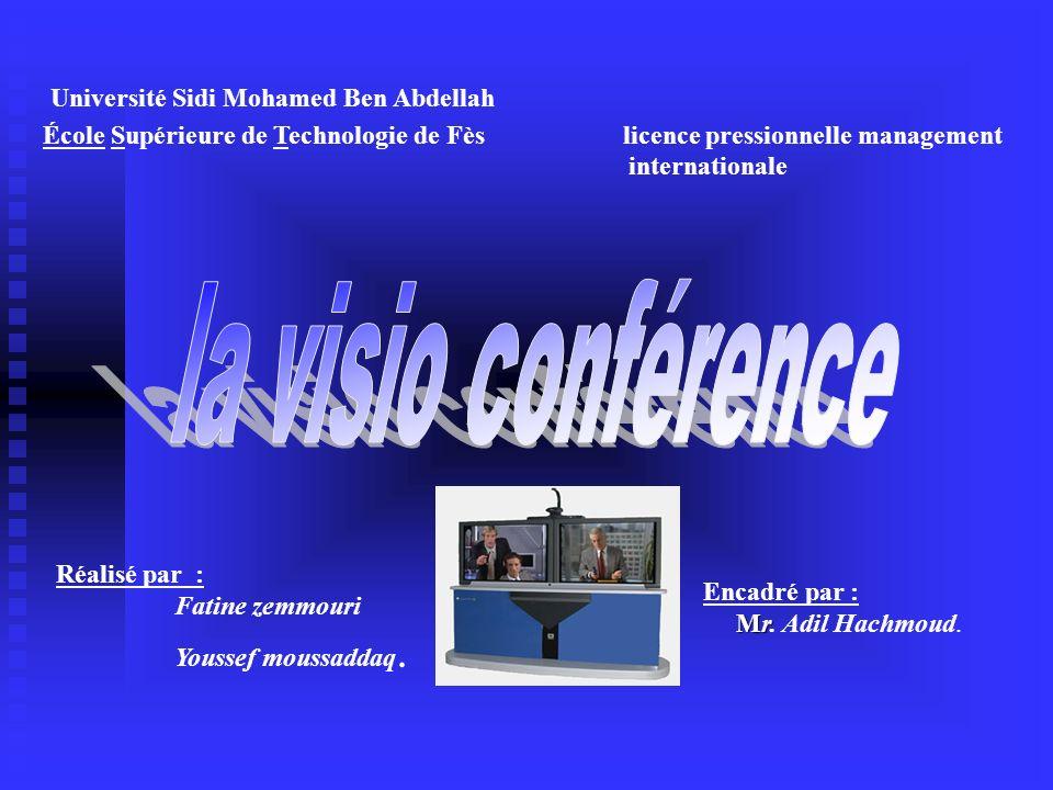 Université Sidi Mohamed Ben Abdellah École Supérieure de Technologie de Fès licence pressionnelle management internationale Réalisé par : Fatine zemmo