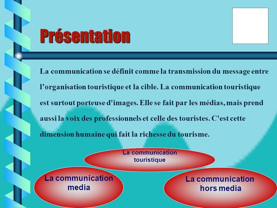 10 la communication touristique I- les moyens de la communication touristique II- la communication touristique au Maroc III-
