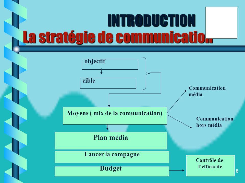 7 Pour rejoindre le marché et afin dassurer un lien avec ce dernier, la stratégie de communication se révèle essentiel. lorganisation touristique disp