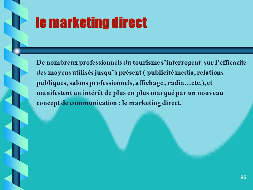 84 le marketing direct