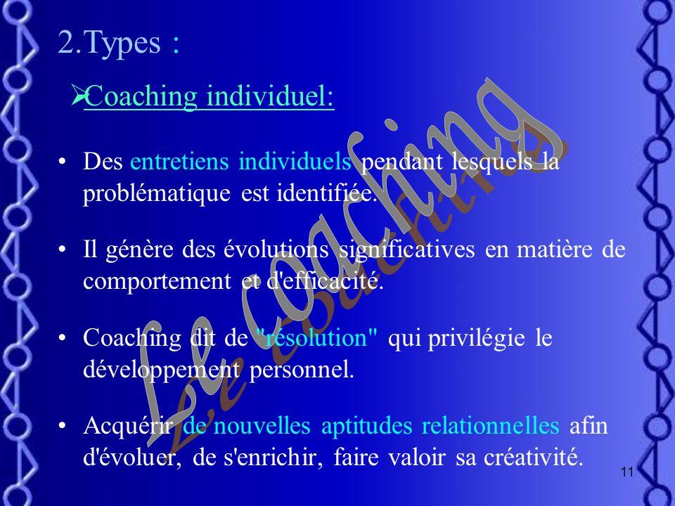 10 Ressources Faire émerger le Meilleur de léquipe Augmentation de La performance Résolution des problèmes Le Coaching Accroître Sa motivation Mieux c