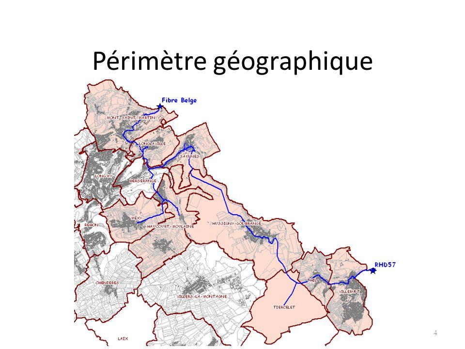 4 Périmètre géographique