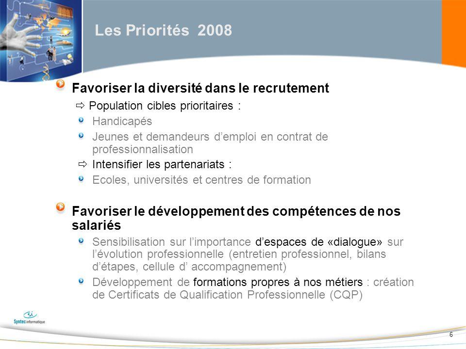 17 Les thématiques prioritaires Déterminées par la CPNE de la branche, les thématiques prioritaires sont des thèmes généraux de formation retenus pour leur pertinence au regard de vos besoins dévolution des compétences et ceux de votre secteur dactivité.