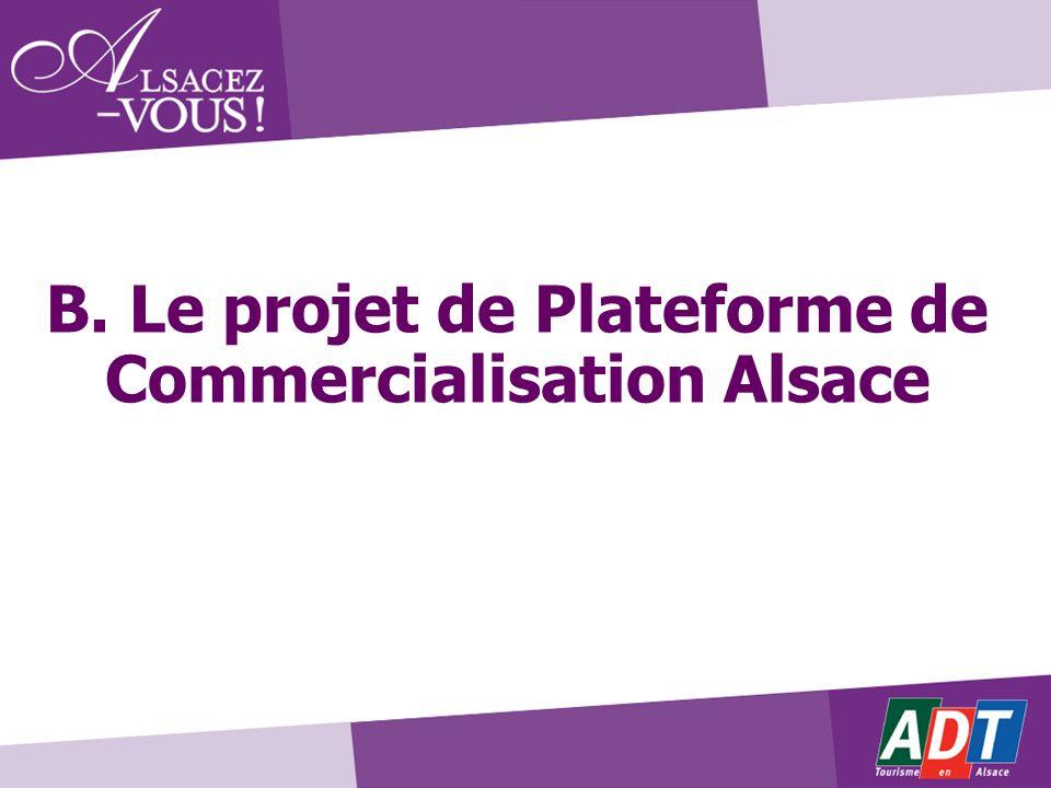 B. Le projet de Plateforme de Commercialisation Alsace
