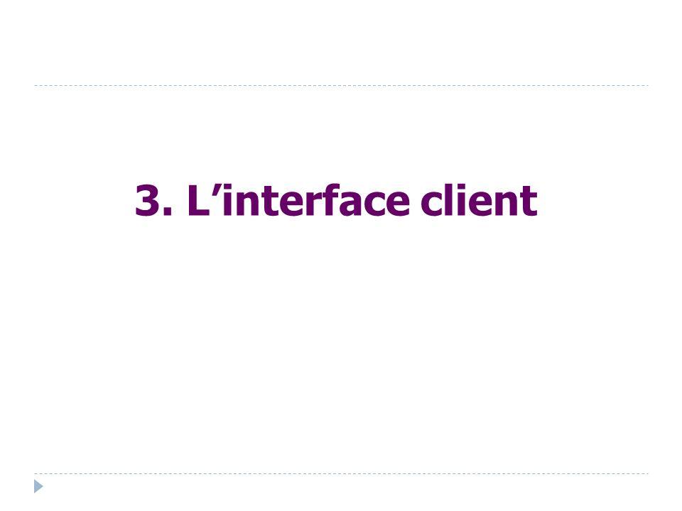 3. Linterface client