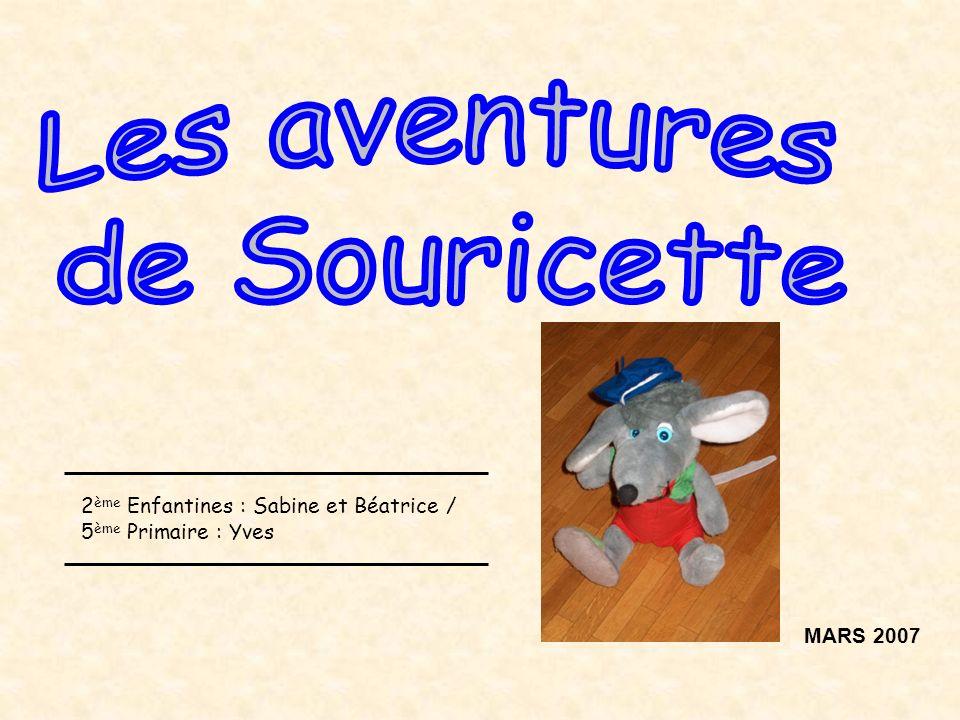 MARS 2007 2 ème Enfantines : Sabine et Béatrice / 5 ème Primaire : Yves