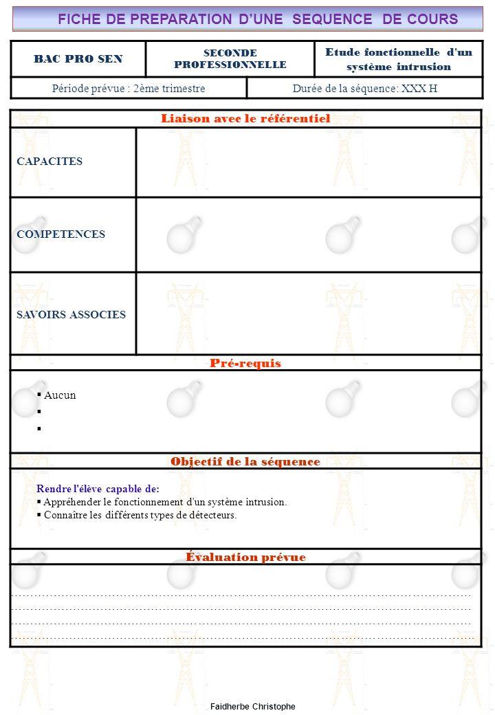Seconde Bac Professionnel SEN M.FAIDHERBE, Professeur au Lycée Privé Saint Rémi Pôle professionnel Léonard de Vinci Cours I).Définition II).