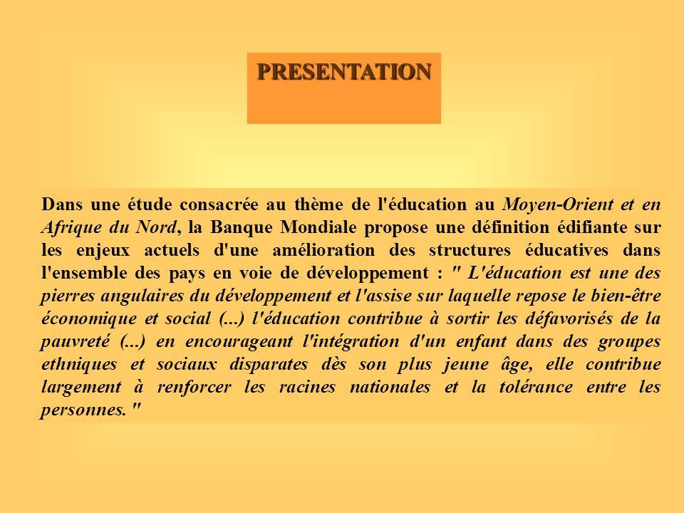 Le Système Educatif dans les zones rurales au Maroc