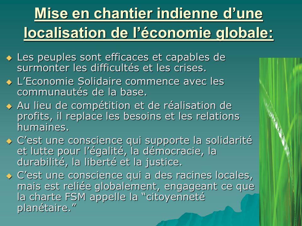 Crise vs ESS parmi les organisations de la base : Penser global et agir local.