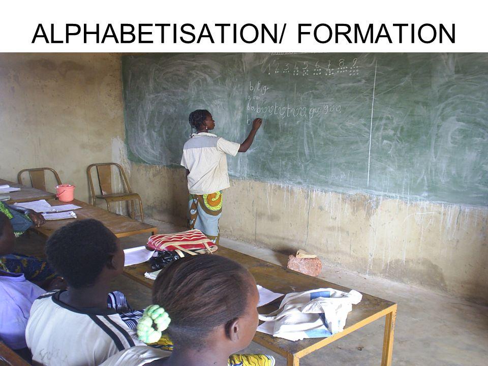 ALPHABETISATION/ FORMATION