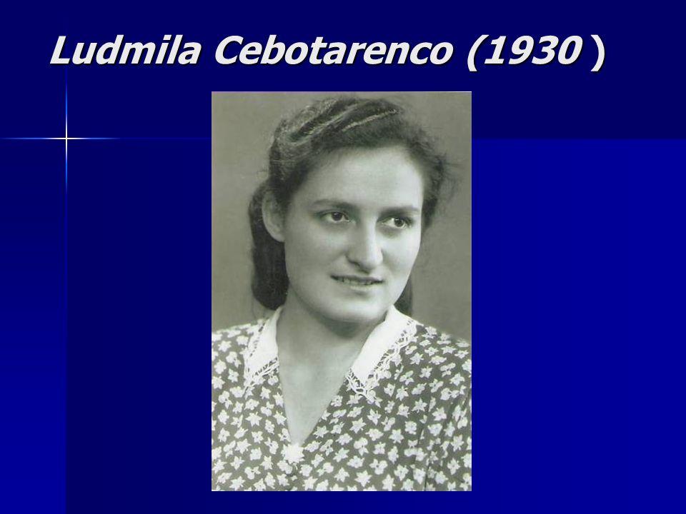 Ludmila Cebotarenco (1930 )