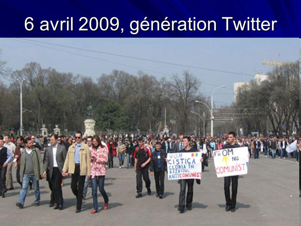 6 avril 2009, génération Twitter