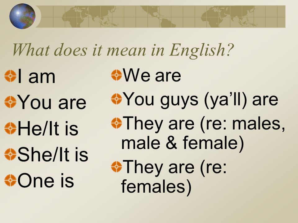 How do you conjugate Être.