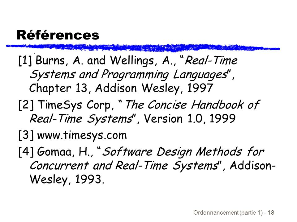 The Concise Handbook Of Real-Time Systems Timesys Corporation
