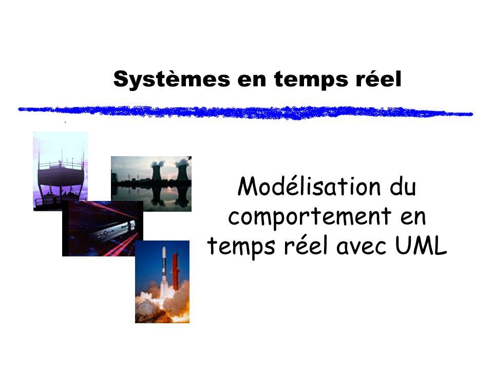 Systèmes en temps réel Modélisation du comportement en temps réel avec UML