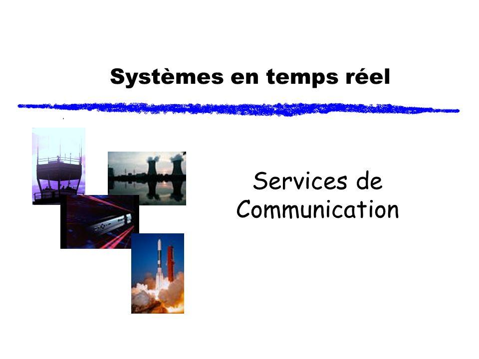 Systèmes en temps réel Services de Communication