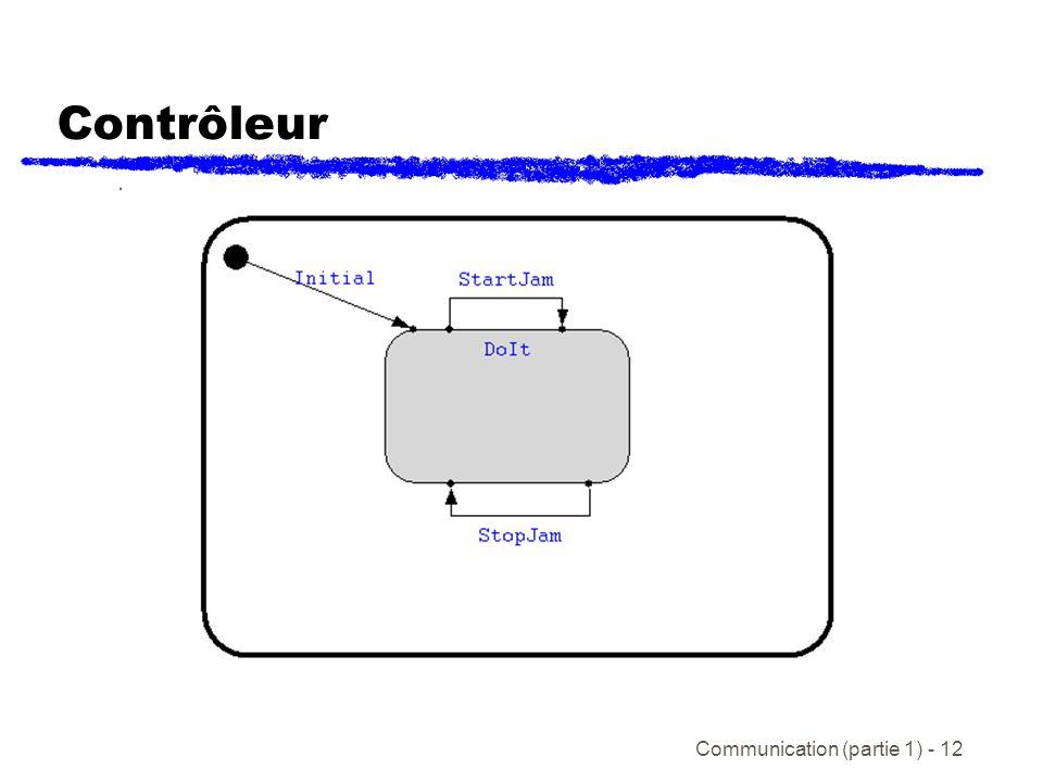 Communication (partie 1) - 12 Contrôleur