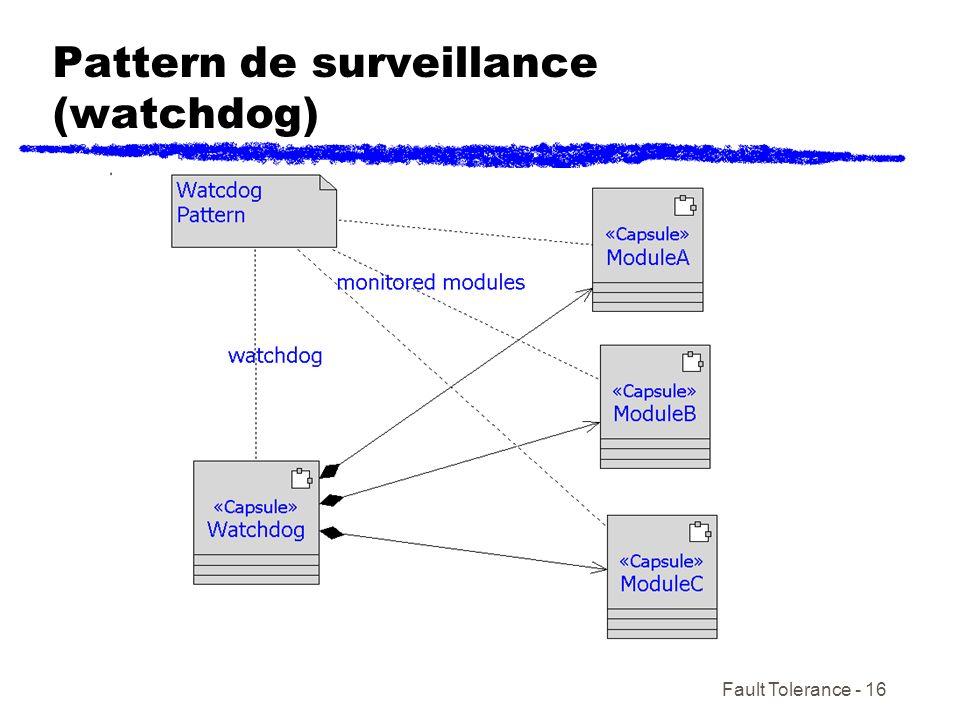 Fault Tolerance - 16 Pattern de surveillance (watchdog)