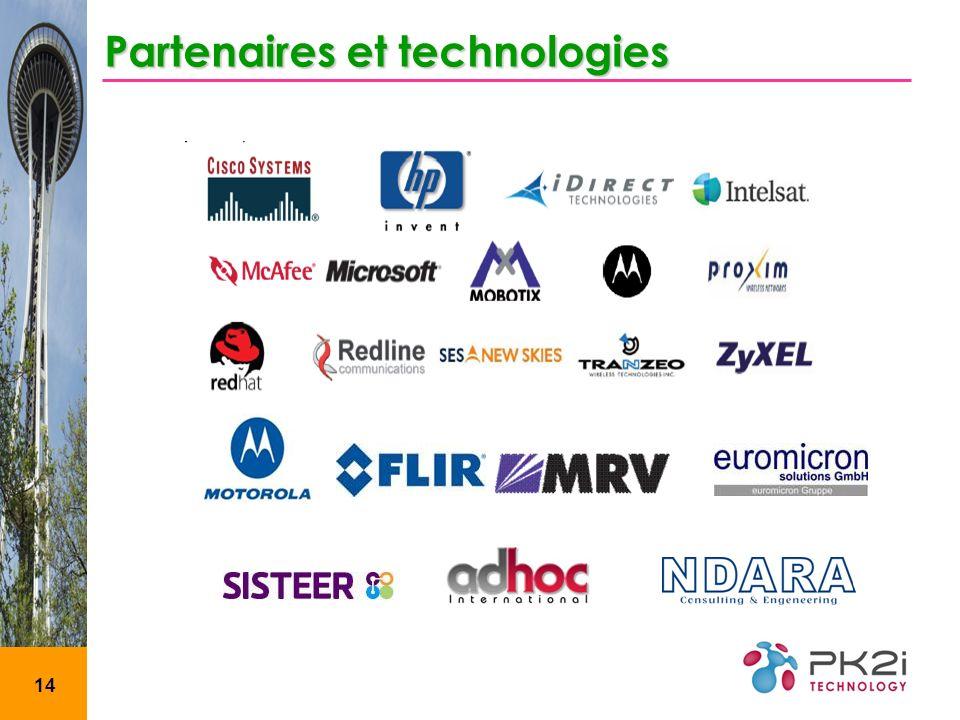 14 Partenaires et technologies