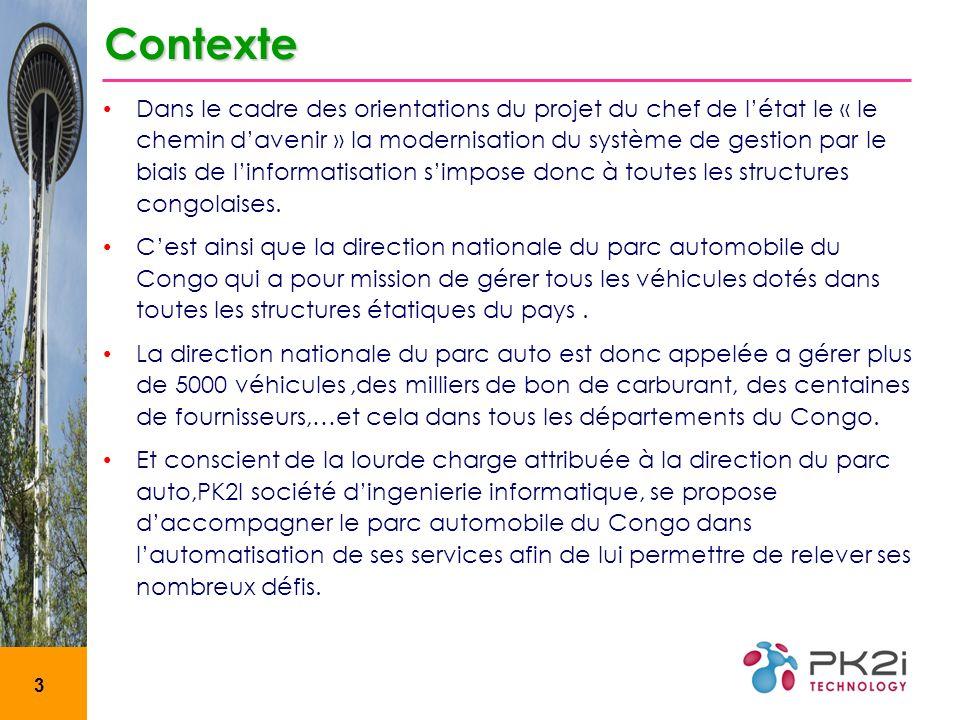 3 Dans le cadre des orientations du projet du chef de létat le « le chemin davenir » la modernisation du système de gestion par le biais de linformatisation simpose donc à toutes les structures congolaises.