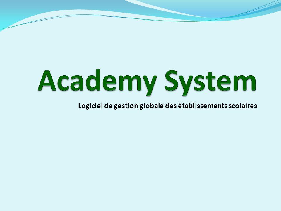 Logiciel de gestion globale des établissements scolaires