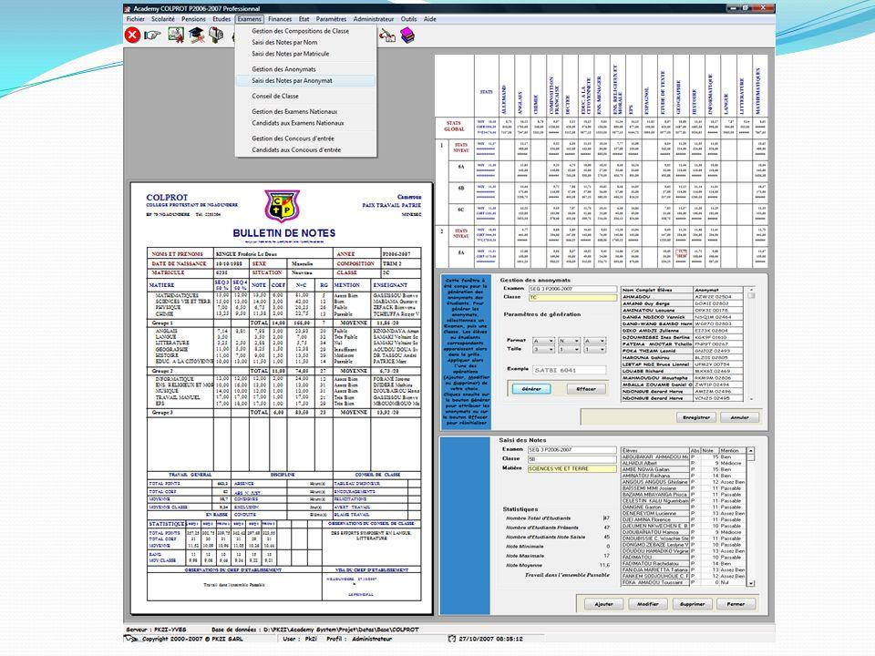 Bases de données supportées Oracle 9i ou supérieure SQL Server 2000 ou supérieure MySQL 4.0 ou supérieure FireBird 2.1 ou supérieure Access 2000 ou supérieure
