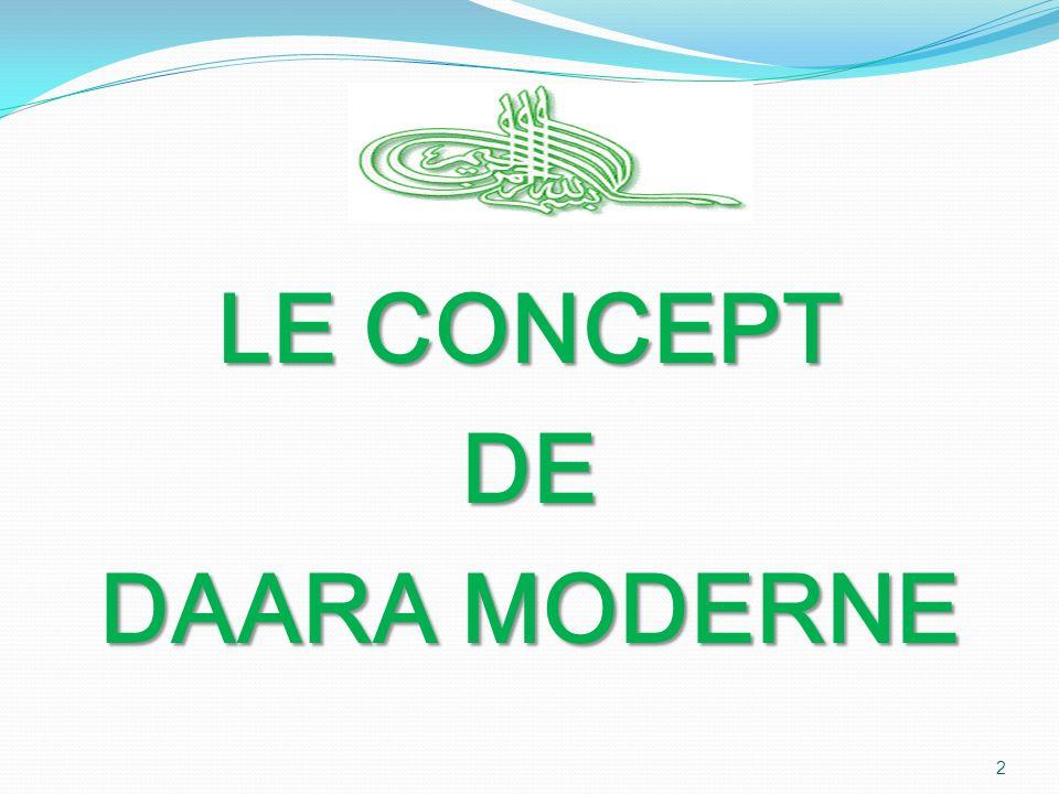 LE CONCEPT DE DAARA MODERNE 2