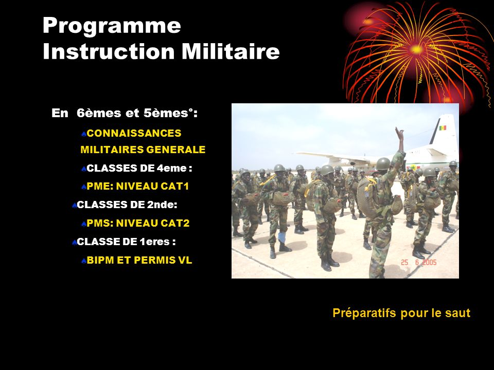 FORMATION DISPENSEE