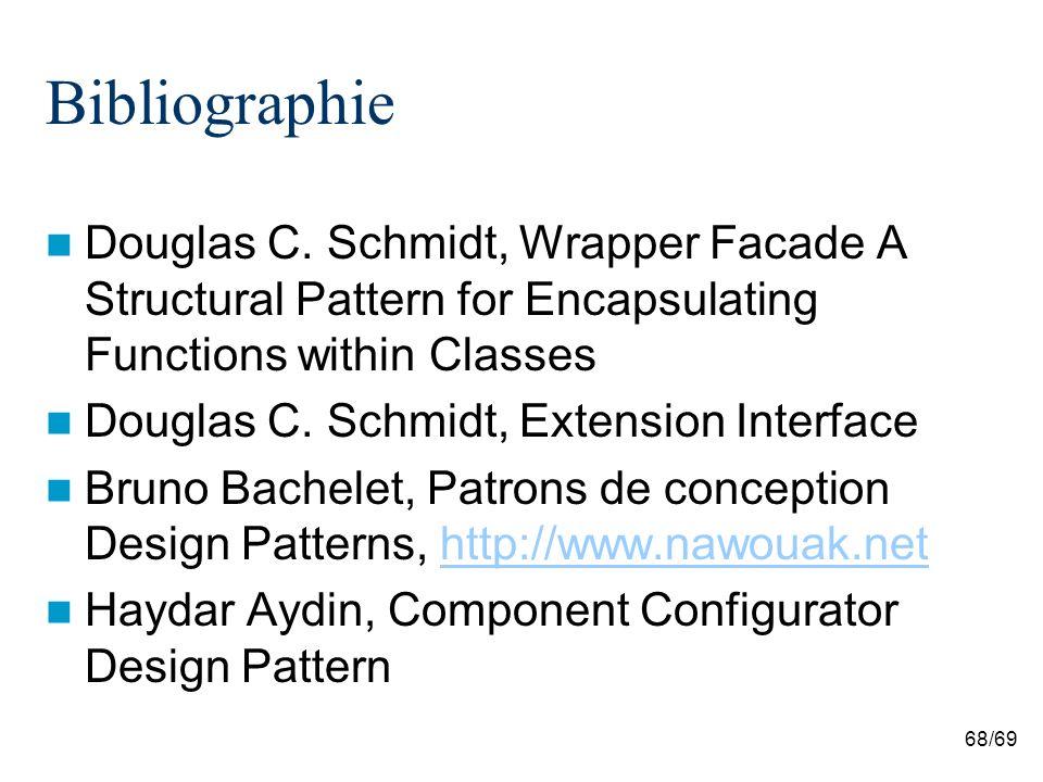 68/69 Bibliographie Douglas C.
