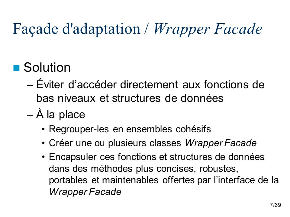 38/69 Interface d extension / Extension Interface Exemple