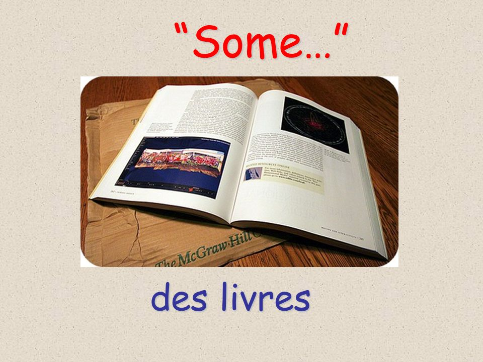 des livres Some… Some…