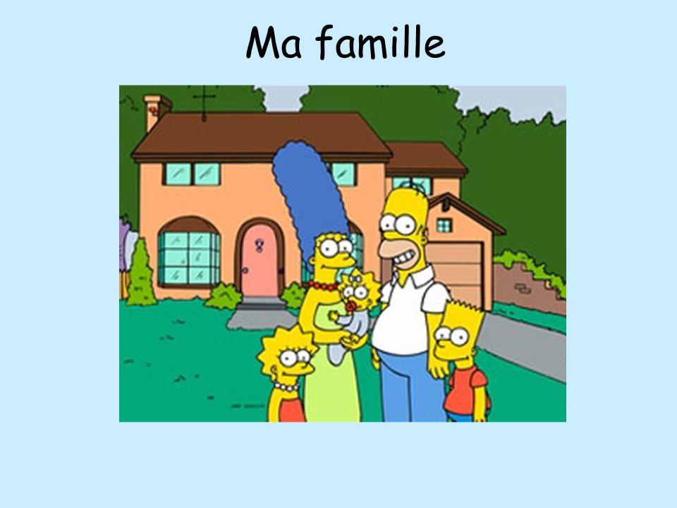 Je mappelle Lisa. Jai un frère. Jai une soeur.