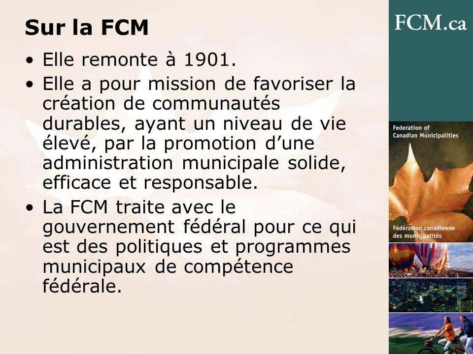 Sur la FCM Elle remonte à 1901.