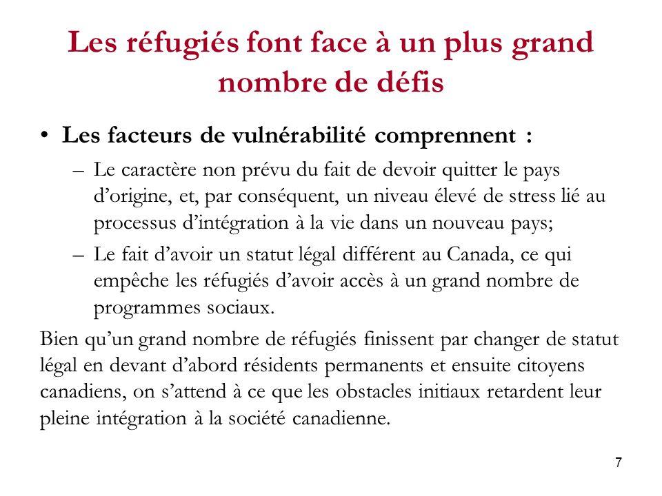 18 Un grand nombre dimmigrants récents du troisième âge nont aucune connaissance des langues officielles Plus de la moitié des immigrants récents du troisième âge ne possèdent aucune connaissance des langues officielles du Canada.